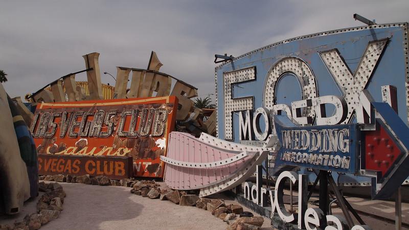 Neon Museum-Old Las Vegas signs