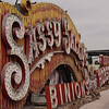 Neon Museum-Old Las Vegas signs<br /> Sassy Sallys
