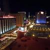 Las Vegas at night from the Main Street Hotel