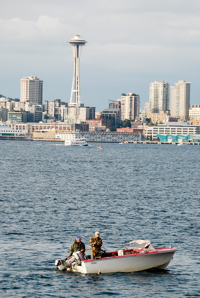 """<span id=""""title"""">2 Dudes in a Boat</span> Fishing, out on Puget Sound"""