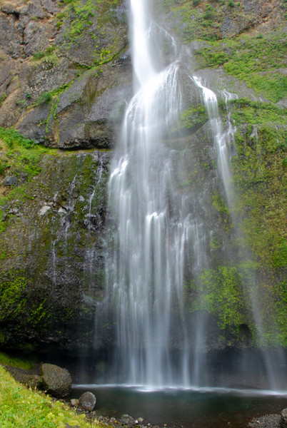 """<span id=""""title"""">Multnomah Falls</span> After our hike to the top."""