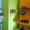 """<span id=""""title"""">Hipcooks Kitchen</span> I'd taken a couple Hipcooks classes in Los Angeles, so we thought it'd be fun to try one out in Portland - it was great! The kitchen was very brightly colored and spacious, very fun."""