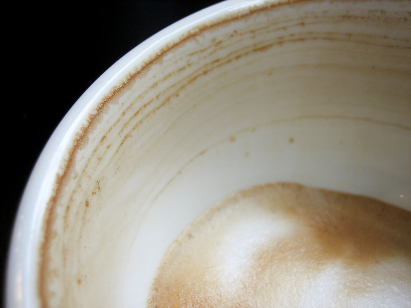 """<span id=""""title"""">Cappucino</span> Started the day off appropriately in Seattle."""