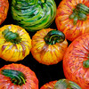 """<span id=""""title"""">Fragile Pumpkins</span> Some colorful glass pumpkins for sale at Pike Place Market."""