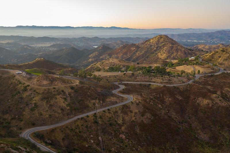 Mulholland Highway - California