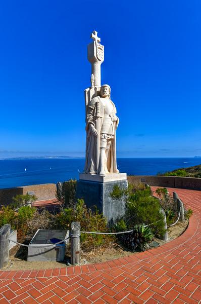 Juan Rodriguez Cabrillo Statue
