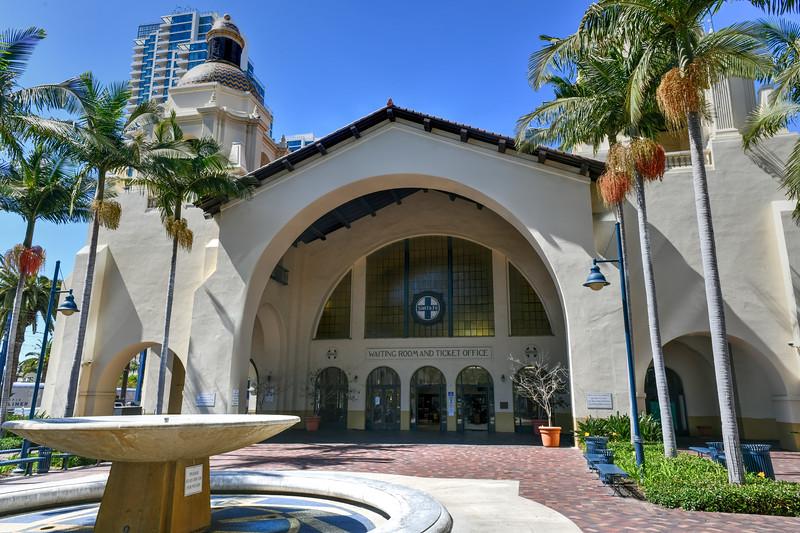 Sante Fe Depot - San Diego, California