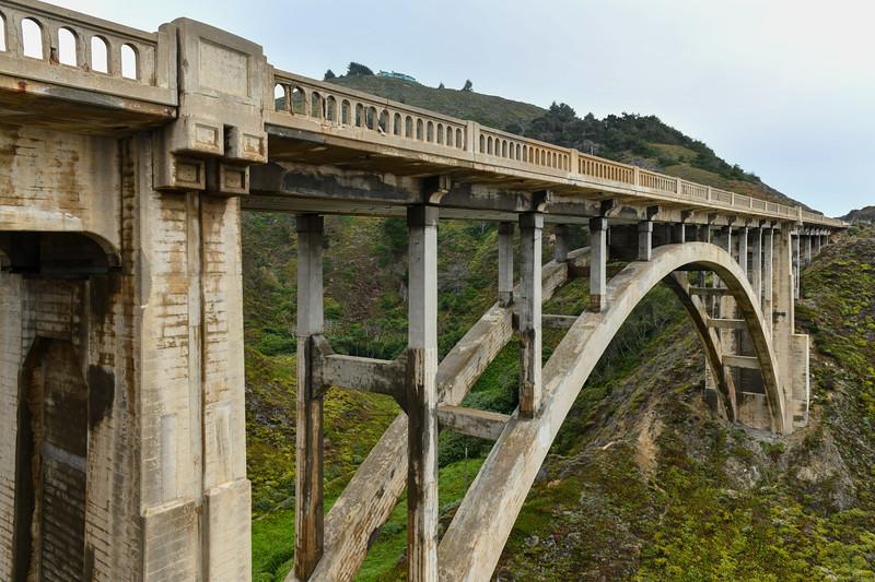 Rocky Creek Bridge - Big Sur, California