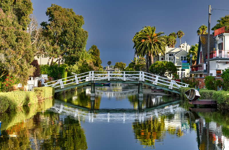 Venice Canal - Los Angeles, California