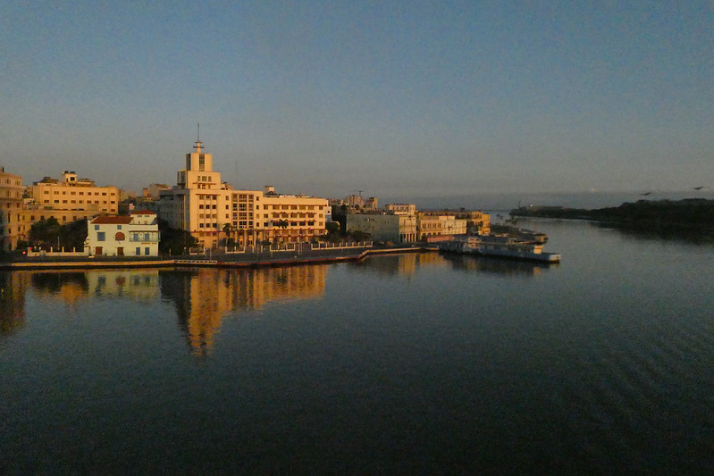 Sunrise, our last day in Havana.