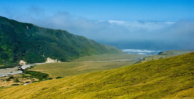 Above the Lost Coast