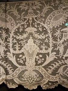 lace pattern in Rijksmuseum