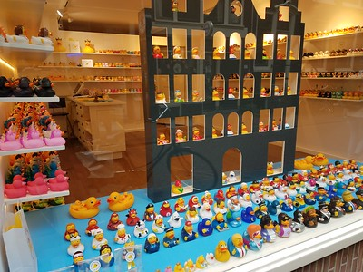 rubber duckie store window