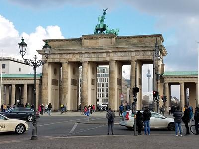 Brandenburg Gate (back)