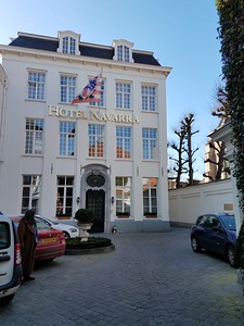 Our hotel in Brugge