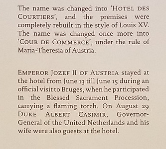 detail of hotel history