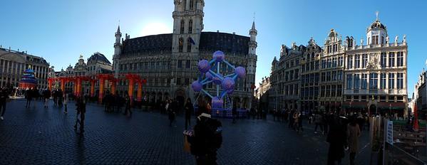 La Grand Place Panorama