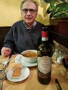 Alan at dinner