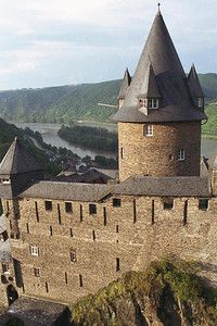 Castle hostel in Germany's Rhine River Valley