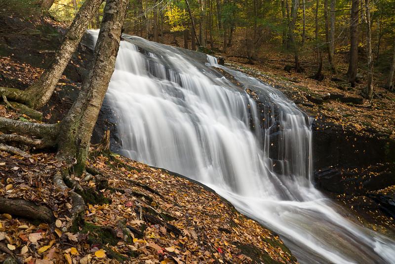 Chapel Falls in Ashfield, Massachusetts