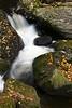 Goldmine Brook Falls in Chester, Massachusetts