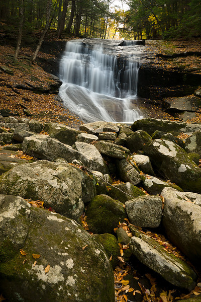 Chapel Falls in Ashfield, Massachusetts