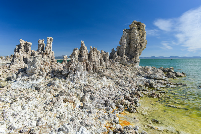 Tufa Formation in Mono Lake, California
