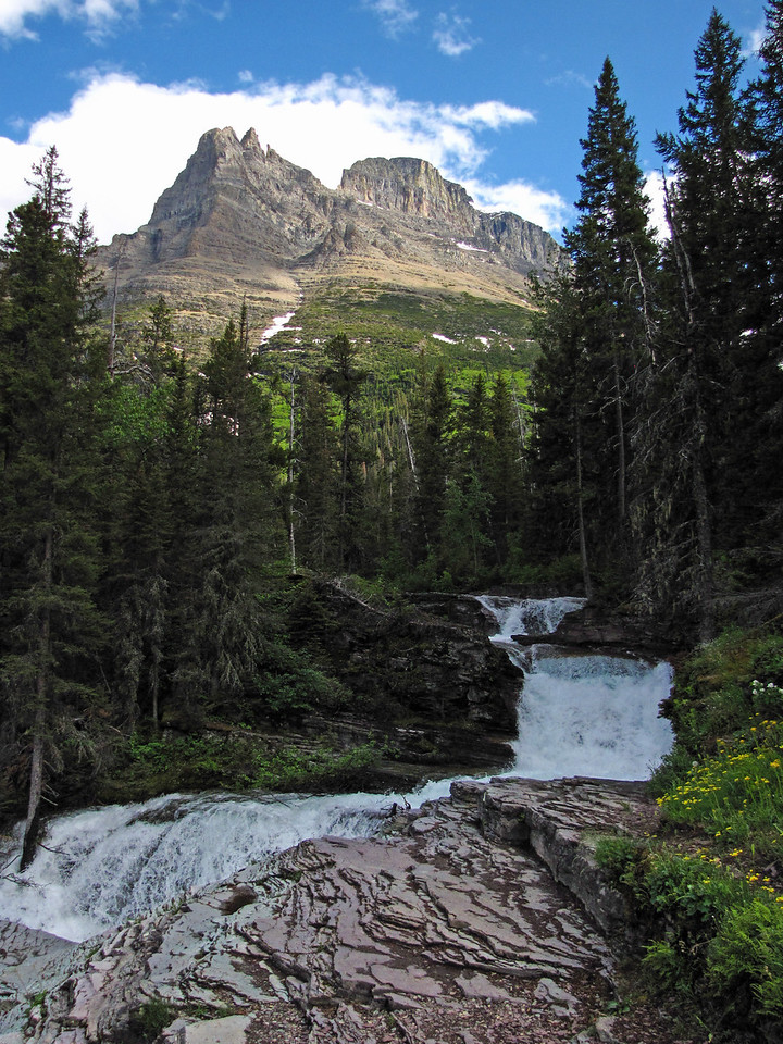Virginia Falls, Glacier National Park.