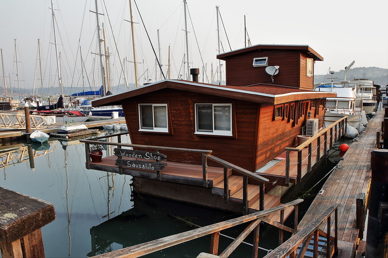 Houseboat at Sausalito, CA