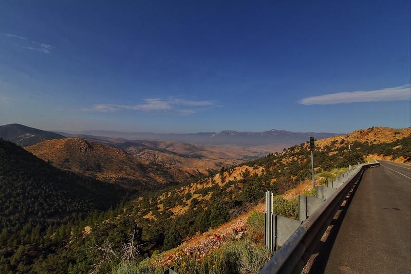 The road from Reno to Virginia City, Nevada