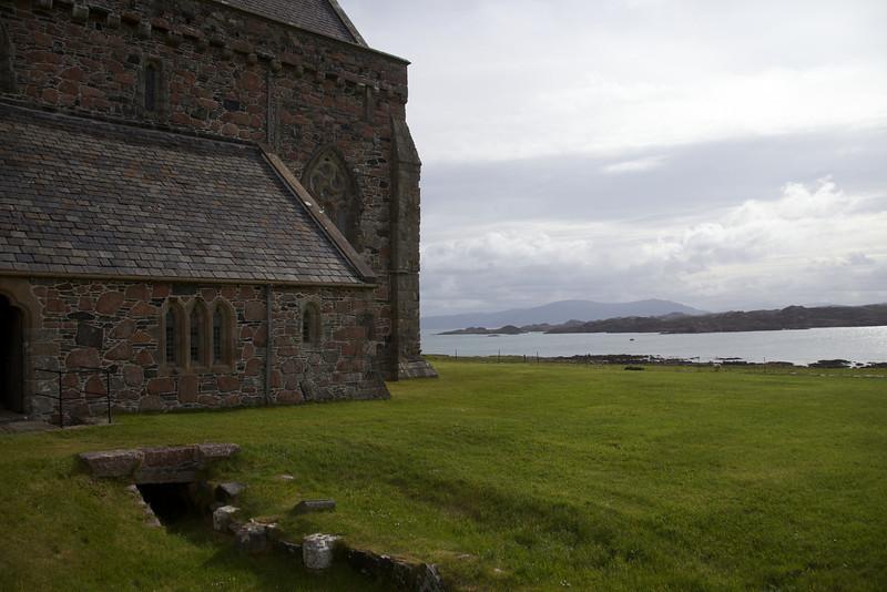 Iona , abbey