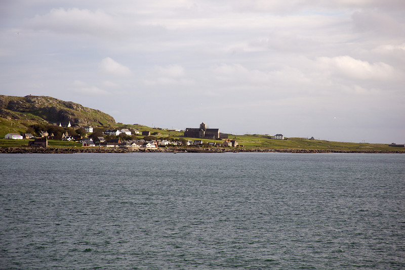 Iona , view of abbey