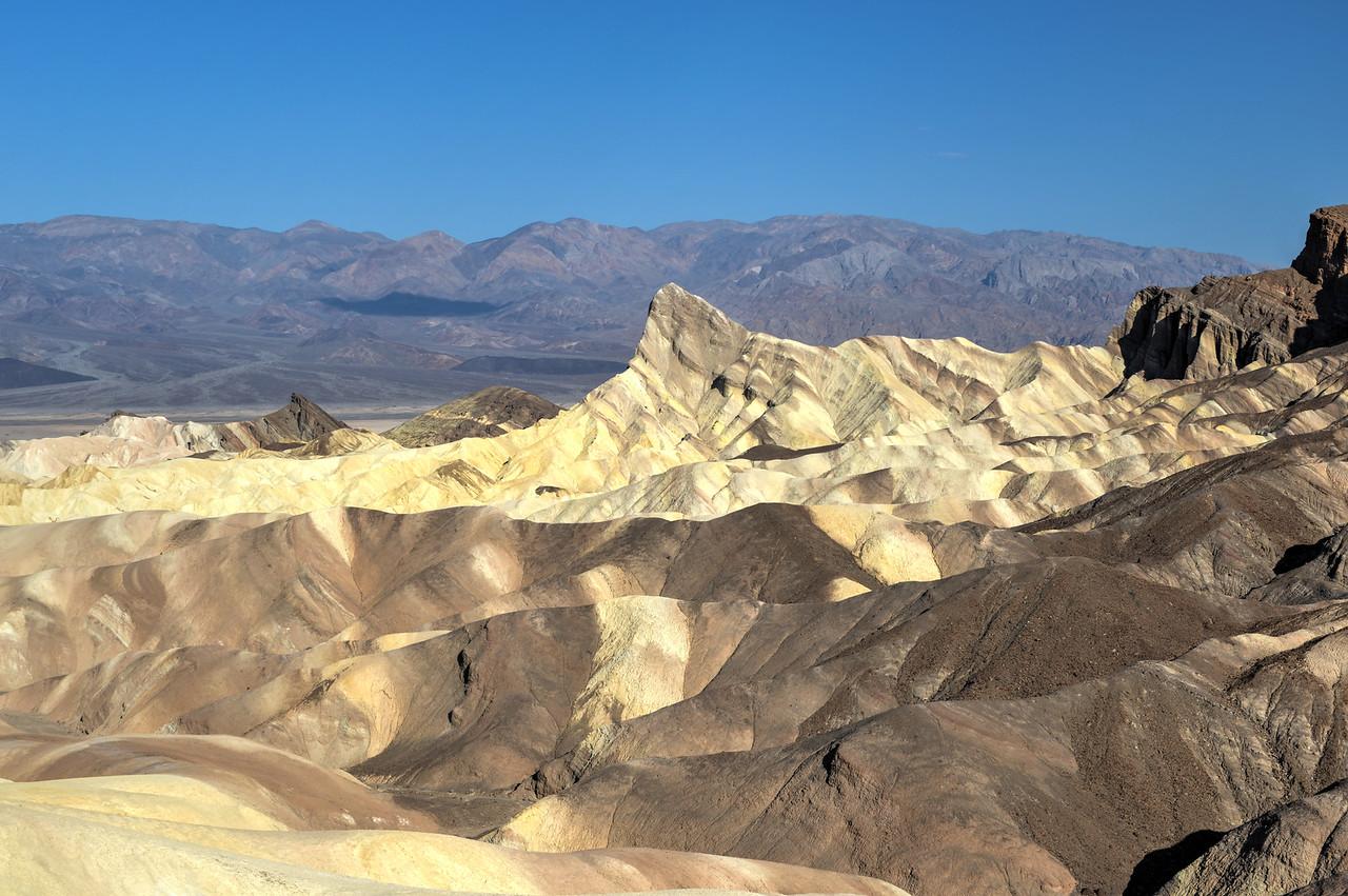 Zabriskie Point in Death Valley National Park, California
