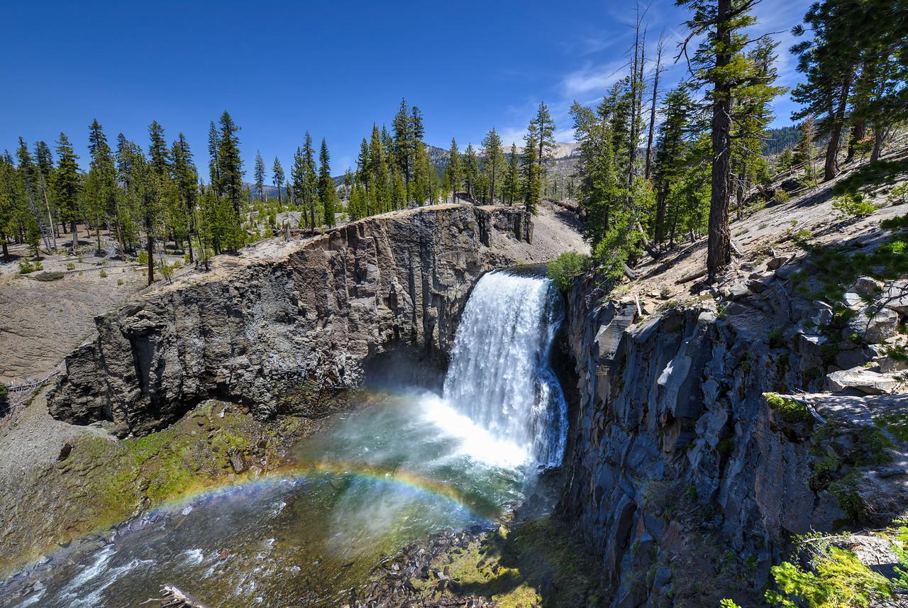 Rainbow Falls, Devil's Postpile National Monument