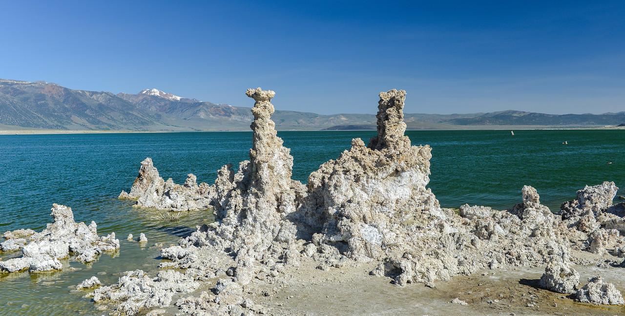 Tufa Formation in Mono Lake, California