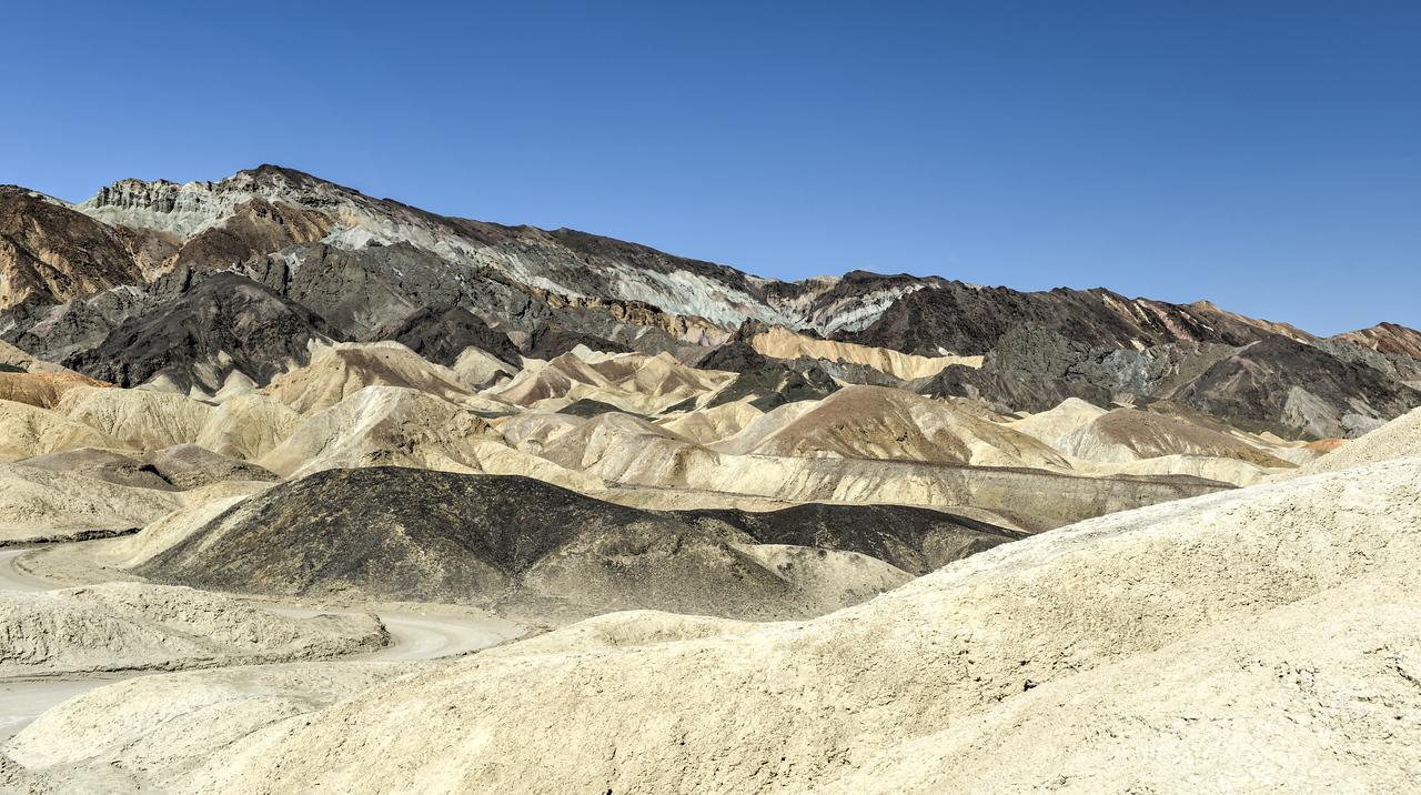 Twenty Mule Team Canyon Road, Death Valley