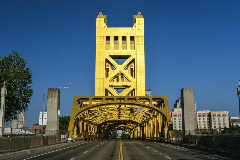 Tower Bridge, Sacramento, California
