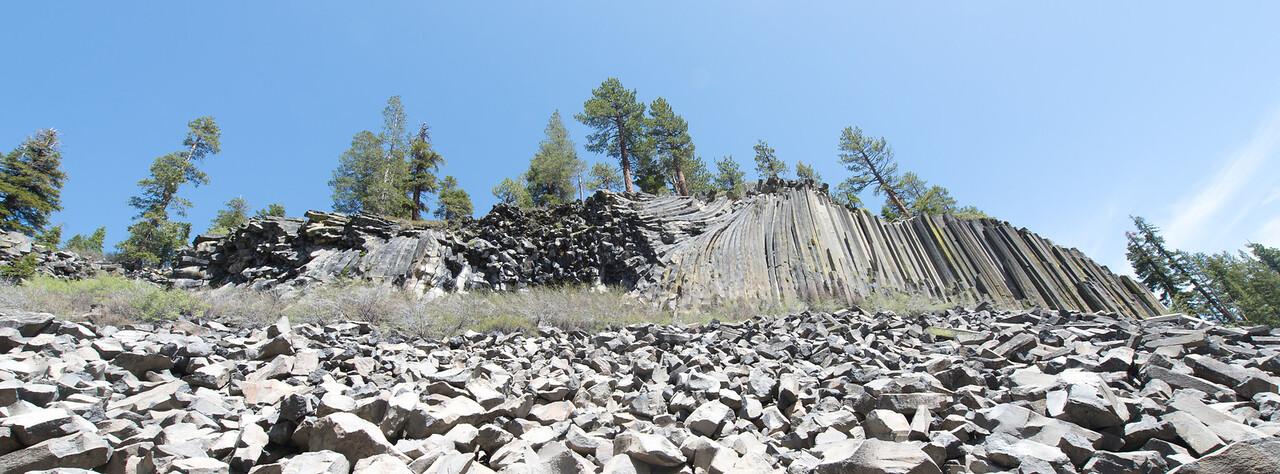 Basalt Formations at Devil's Postpile National Monument