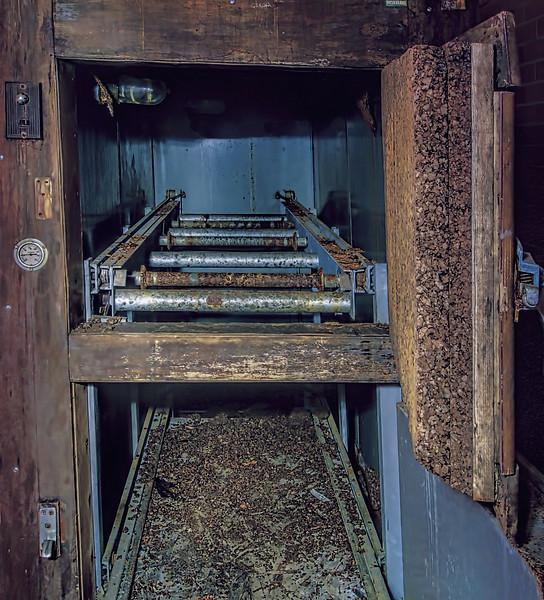 Storage for coffins