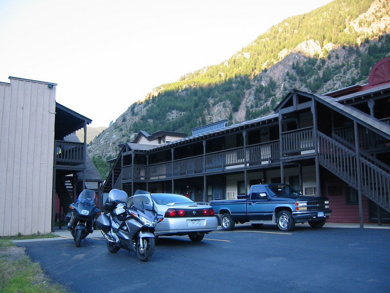<h3><b>Georgetown, CO</b></h3> Tuesday, June 29, 2004</br></br>  <small>The Super 8 in Georgetown. A little different than your average 8.</small>
