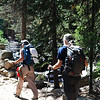 Day 3 - a hike in RMNP with Deborah and Roger, to Ouzel Falls