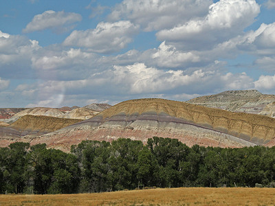 Painted Hills in Wyoming