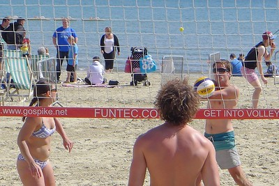 Beach Volley Ball, Weymouth 2017