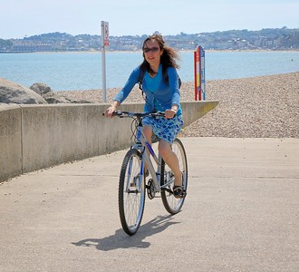 Cycling at Greenhill Gardens