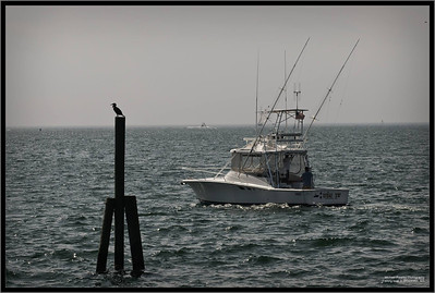 Fishing boat in Gloucester, MA
