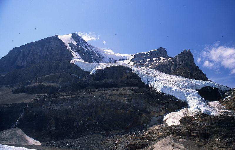 Glacier - Columbia Ice Fields - Jasper Alberta