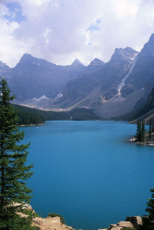 Lake Moraine - Alberta Canada
