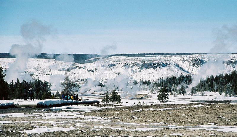 geyser basin - south