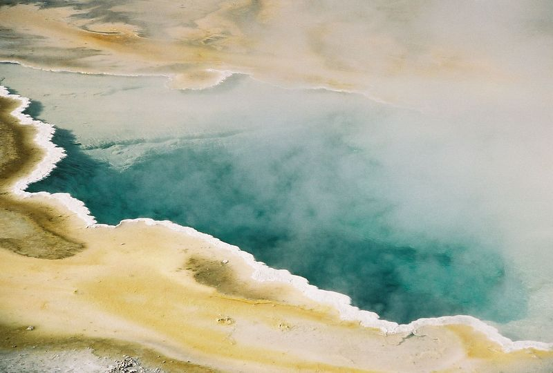 geyser basin - pool