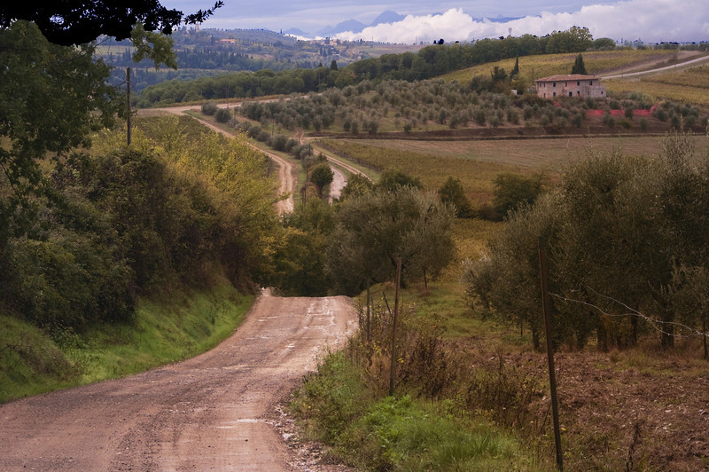 Road in Montagna